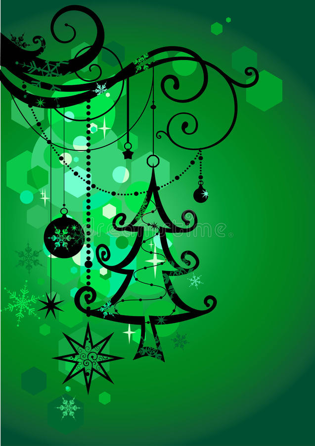 Free Green Holiday Background Stock Image - 11656201