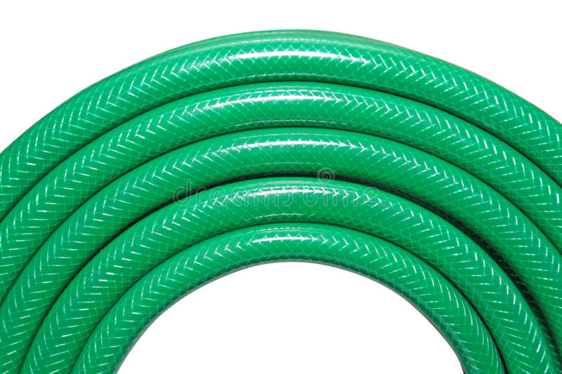 Download Green hose stock image. Image of coiled, summer, lawn - 23746401