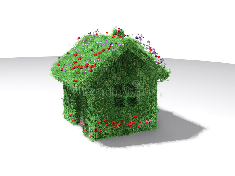 Green house royalty free stock image