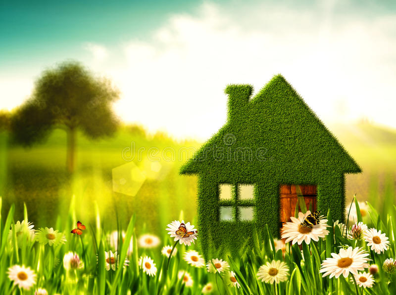 Download Green House. stock image. Image of outdoors, idyllic - 33537655