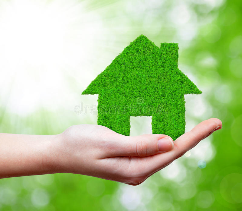Download Green house stock photo. Image of business, construct - 39268278