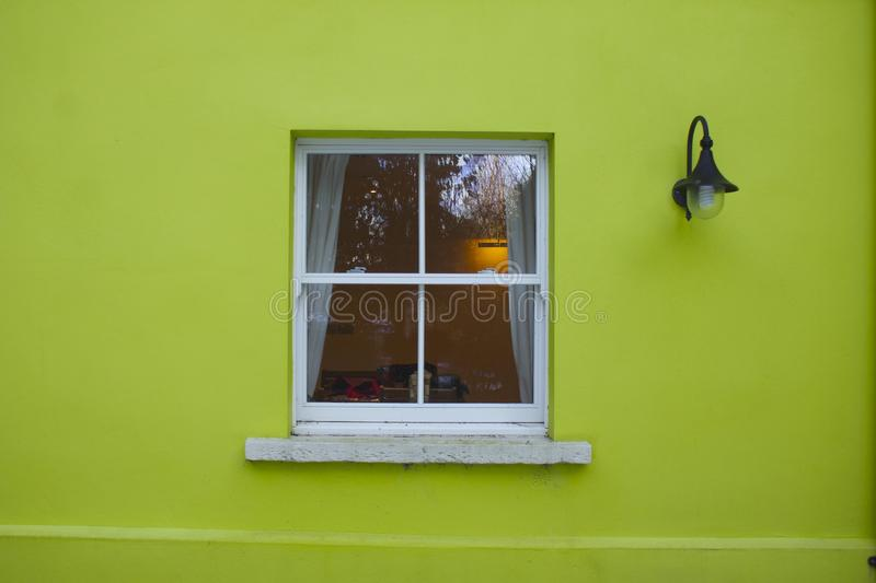 Green house window royalty free stock photos