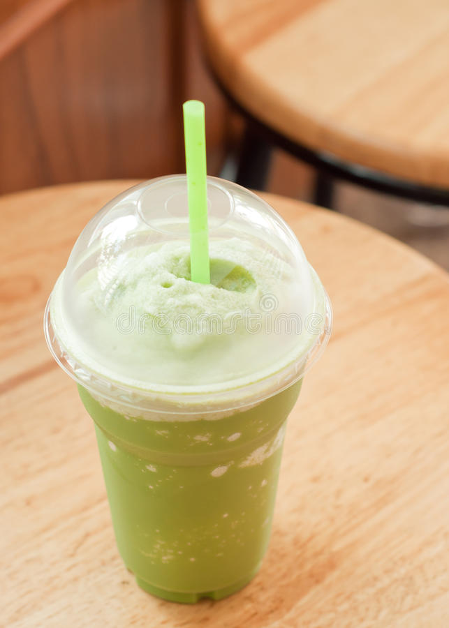 green iced tea royaltyfri bild