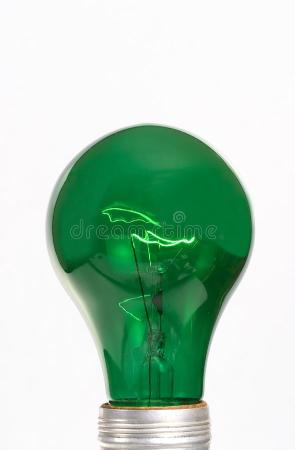 Green Illumination stock photo