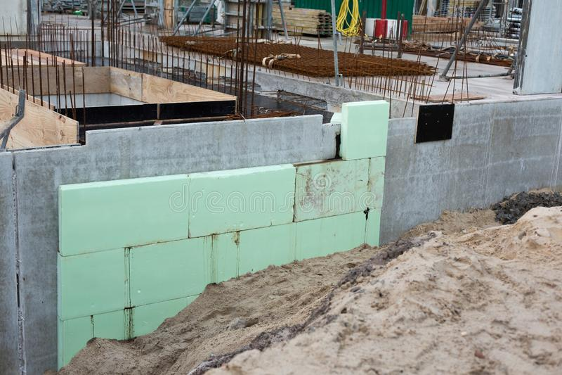 Green_insulation obrazy royalty free