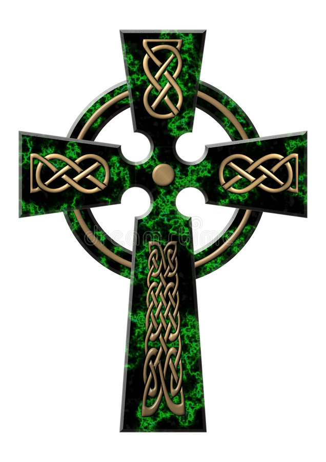 green intersekt marmur royalty ilustracja