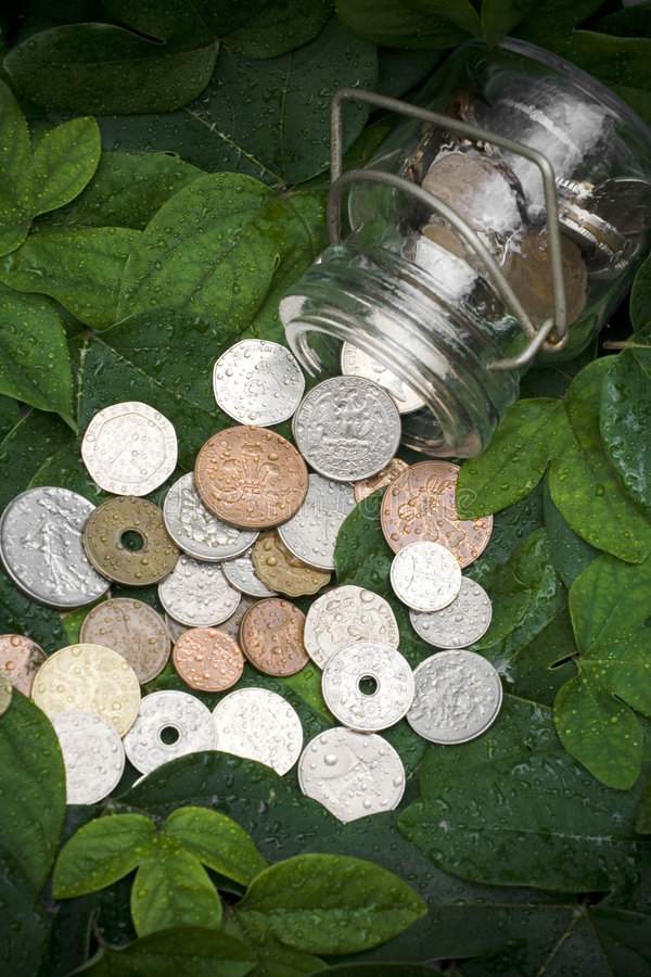 Green investment royalty free stock image