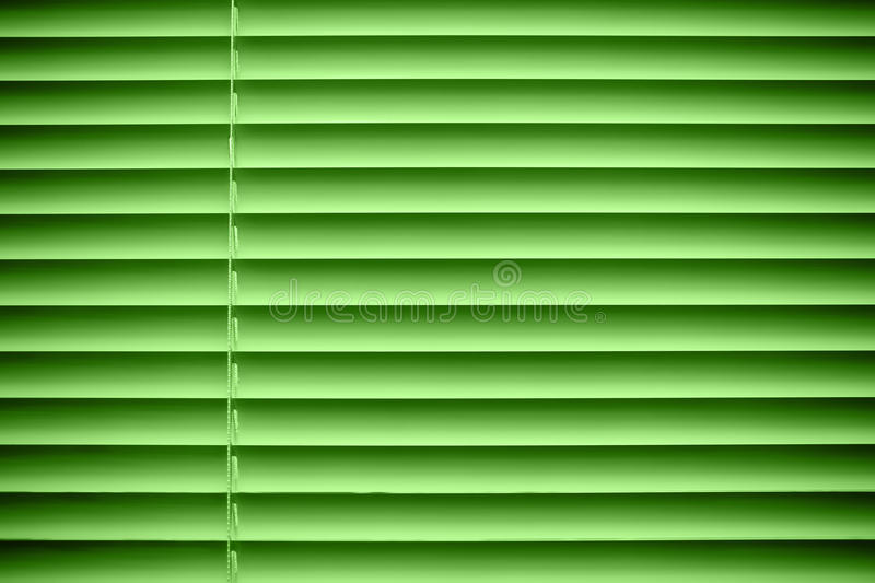 Green jalousie stock images