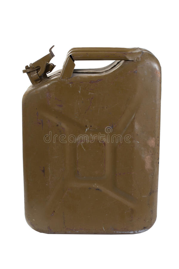 Download Green Jerrycan Isolated On White Background Stock Image - Image: 30307299