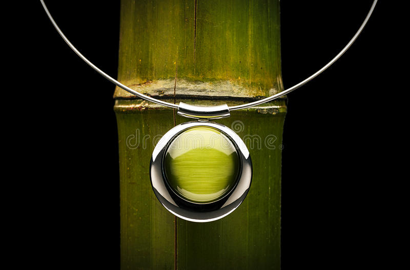 Green jewel royalty free stock photos