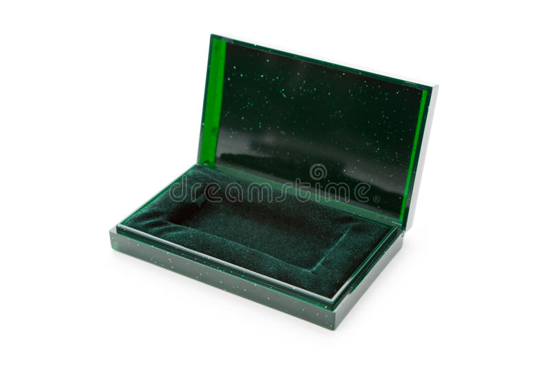 Download Green Jewel Box stock image. Image of green, background - 14073589