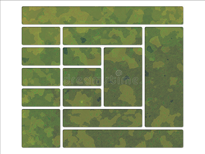 Download Green Jungle British DPM Style Military Camouflage Stock Illustration - Image: 5927890