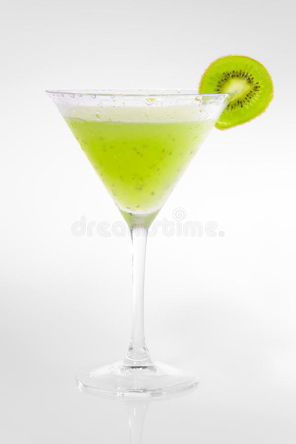 Green Kiwi Cocktail stock images