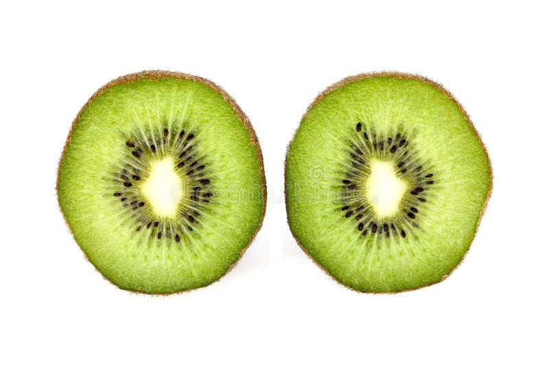 Green kiwi stock photo