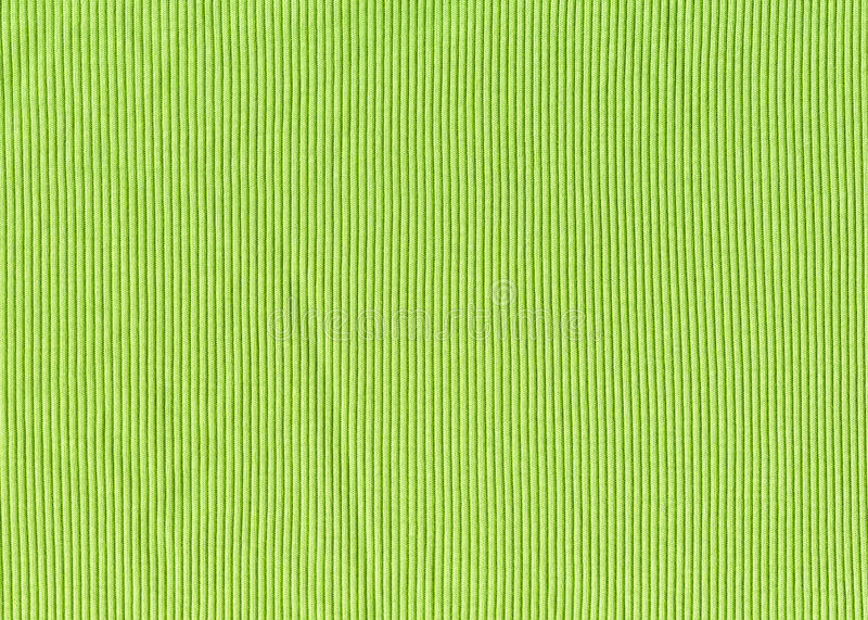 Green knitted fabric texture background stock photos