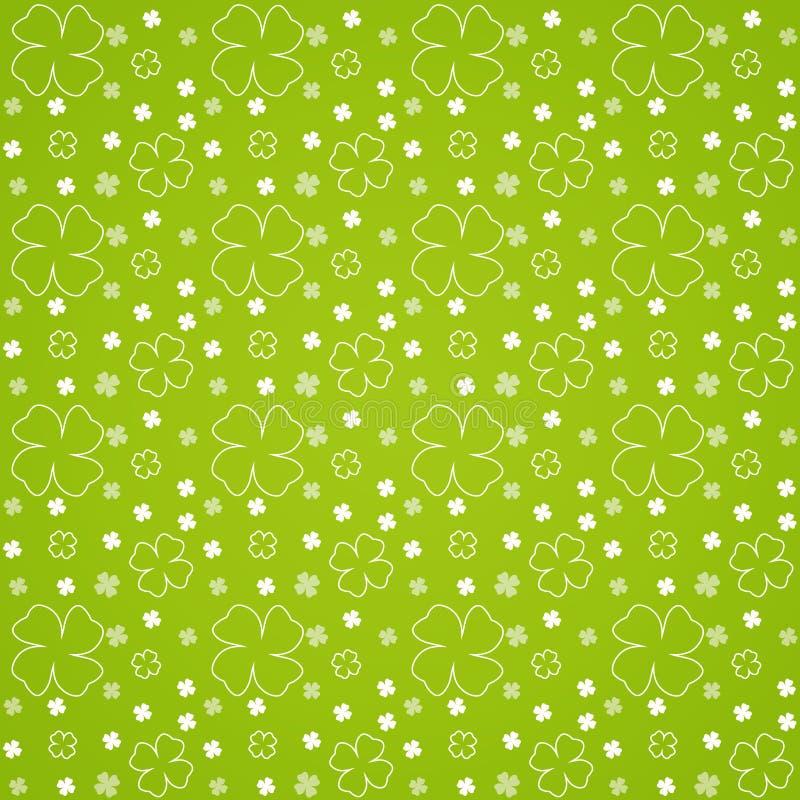 Green Låter Vara Modellen Seamless Royaltyfria Bilder