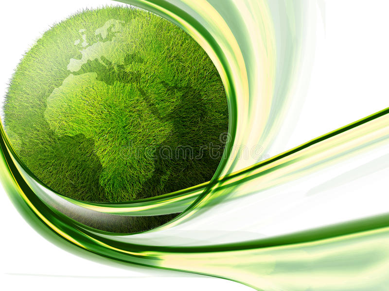Green Land Royalty Free Stock Image