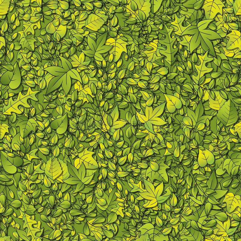 Green Leaf Background stock illustration