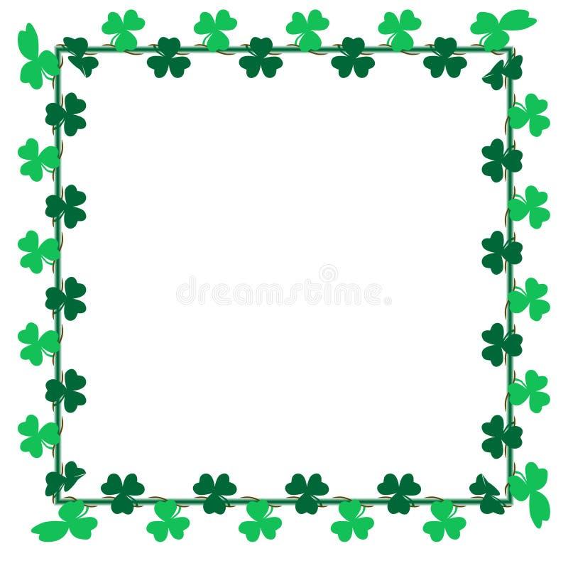 Download Green Leaf Shamrock Clip Art For Card, Background And Backdrop Decoration Stock Vector - Illustration of background, decorative: 89729753