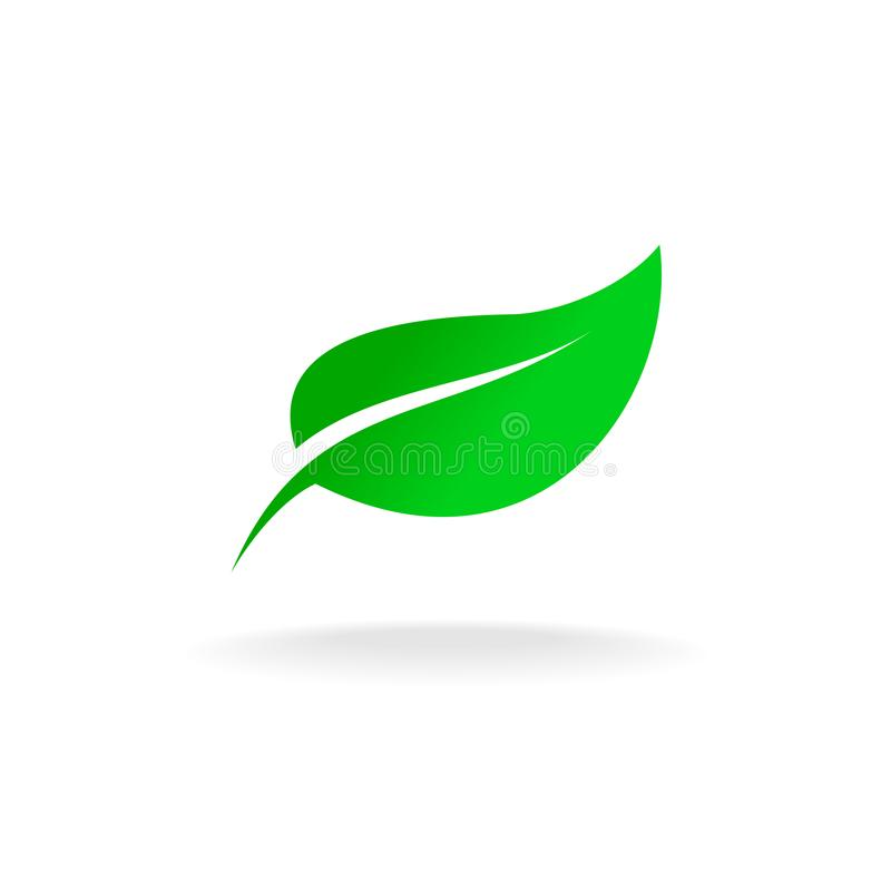 green leaf symbol stock vector illustration of element 103291001 rh dreamstime com vector leaf springs vector leaves free