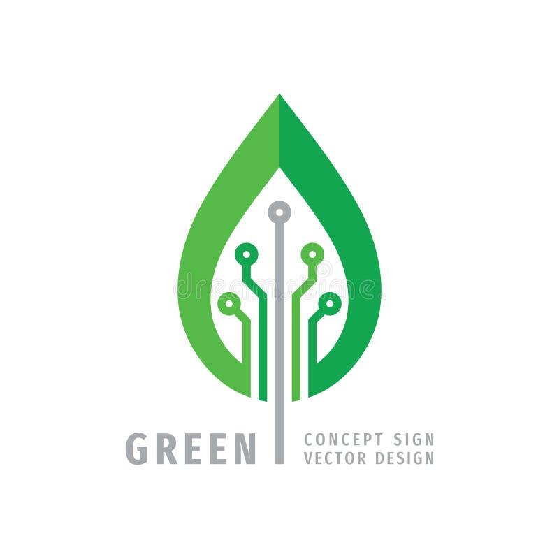Nanotech Logo Design Stock Illustration. Illustration Of