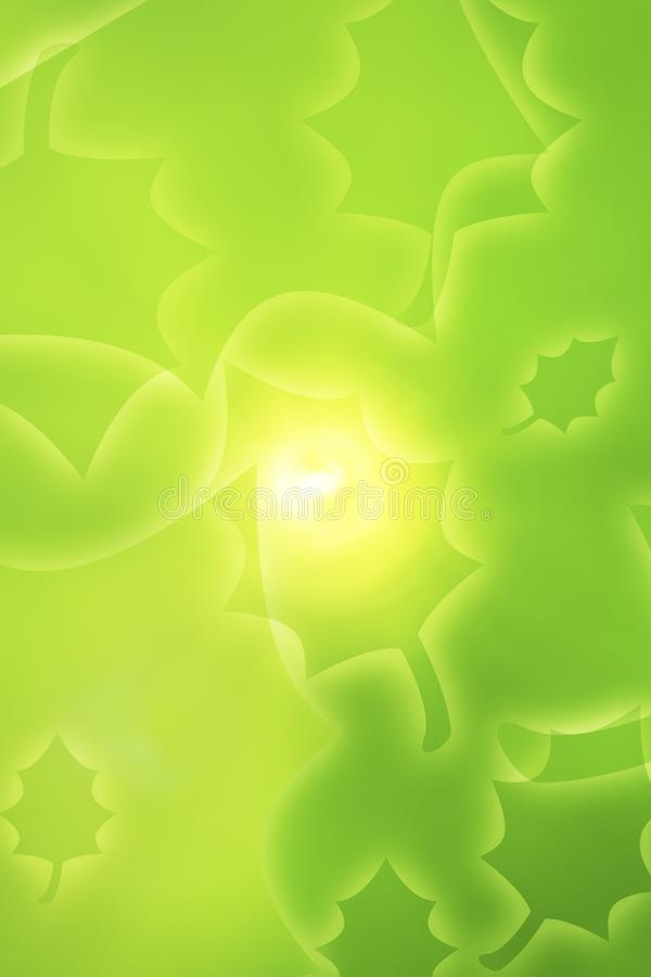 Green Leafy Design Stock Images