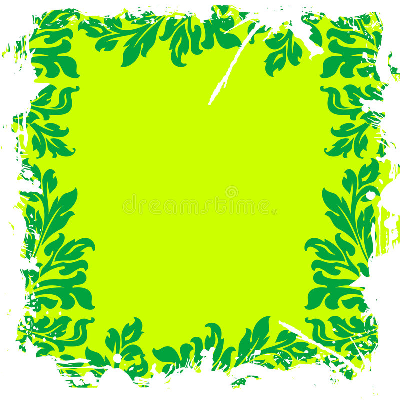 Download Green Leafy Floral Background Stock Vector - Image: 2087556