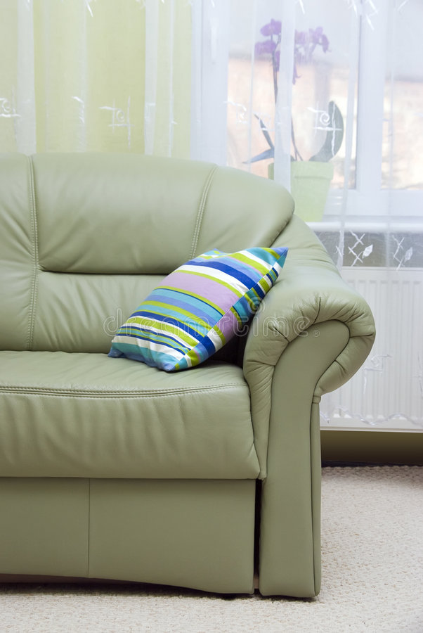 green leather living room green leather sofa stock photos image 3688373