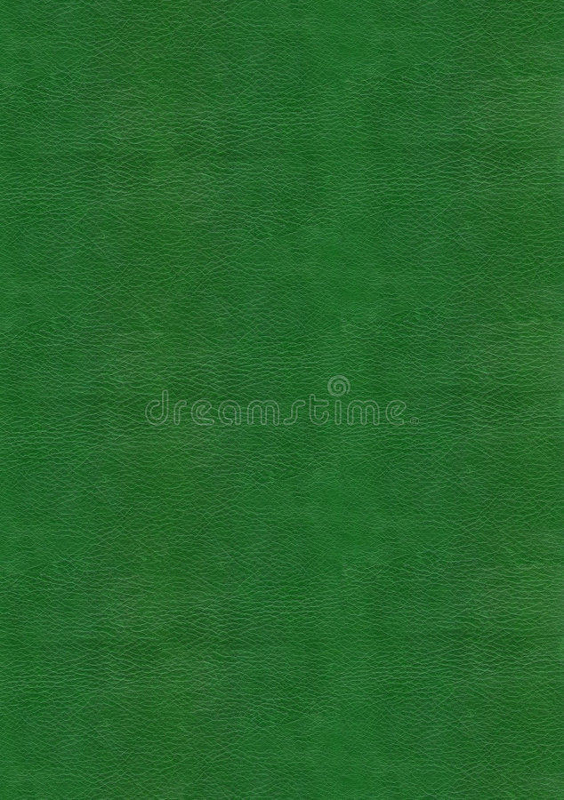 Green leather texture. To backgrounnd royalty free stock photo