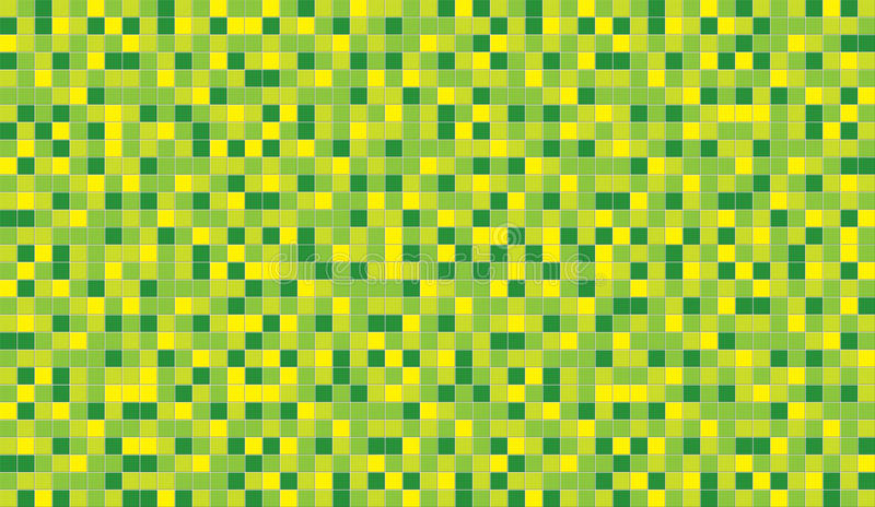 Green Lemon ceramic mosaic. Pattern royalty free stock images