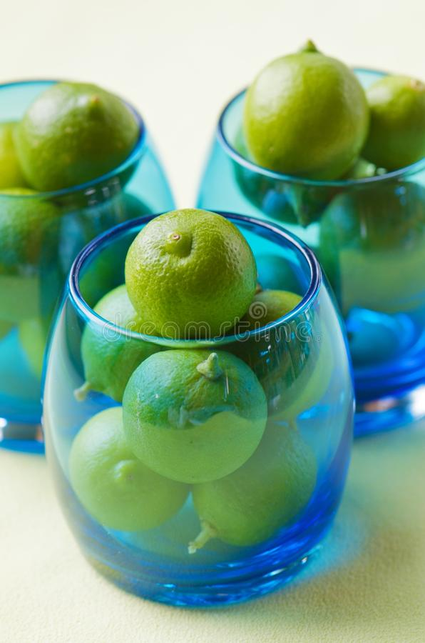 Download Green lemons stock photo. Image of detox, natural, green - 22873780