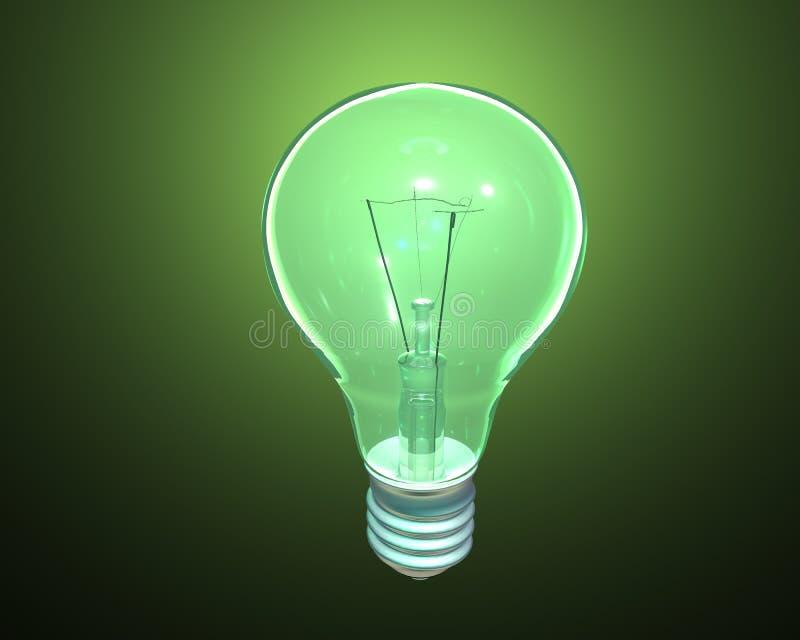 Download Green Light stock illustration. Image of power, environment - 12431164