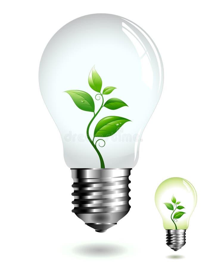Green light vector illustration