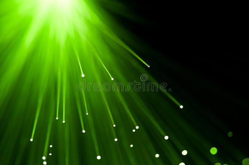 Green light burst. royalty free stock images