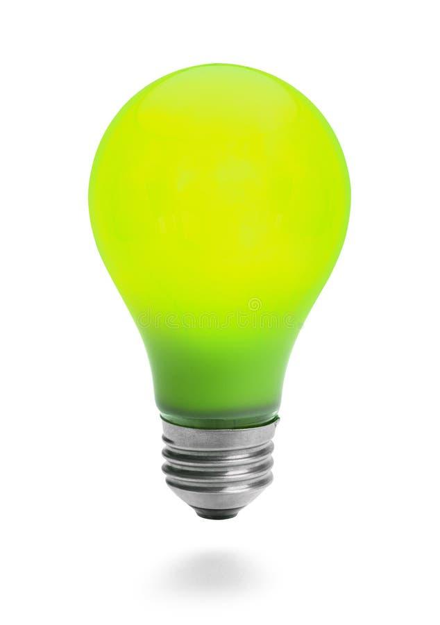 Free Green Lightbulb Royalty Free Stock Photography - 42485607