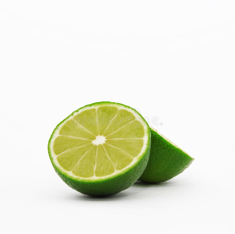 Green lime stock photo