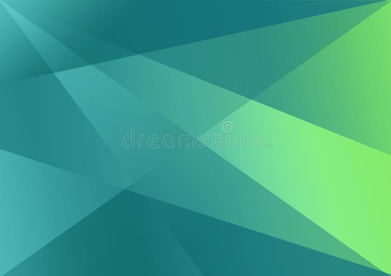 Green linear shape background gradient background. For use with design royalty free stock photos