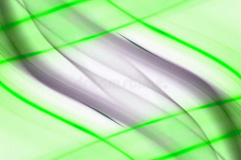 Green lines abstract stock illustration