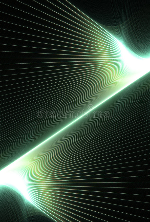 Green lines background royalty free illustration