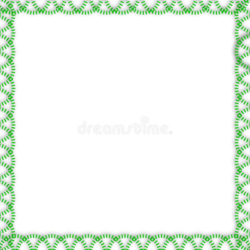 green line border