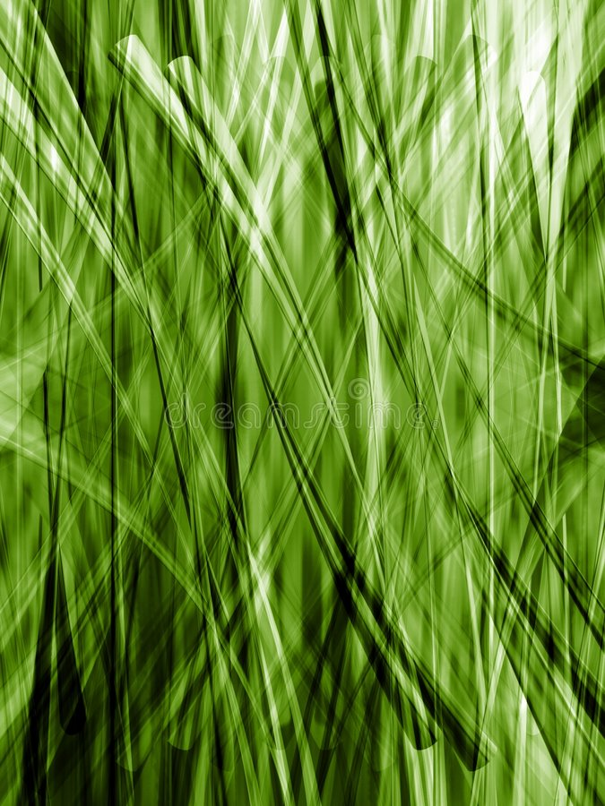 Green lines of grass royalty free illustration