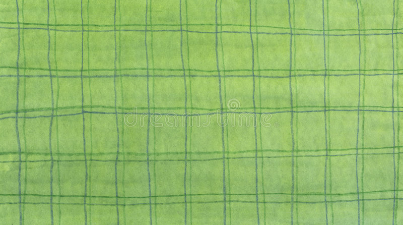 Green lines pattern. Hand drawn green watercolor pattern stock images