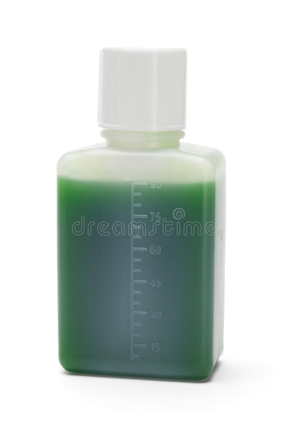 Download Green liquid medicine stock image. Image of object, blank - 17176909