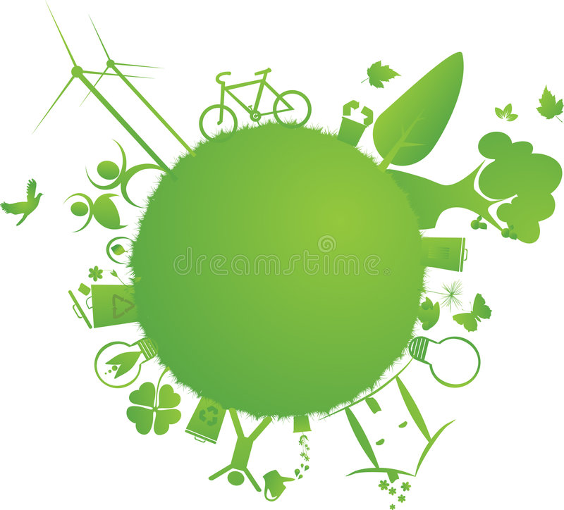 Download Green Little Earth Royalty Free Stock Photo - Image: 6413785