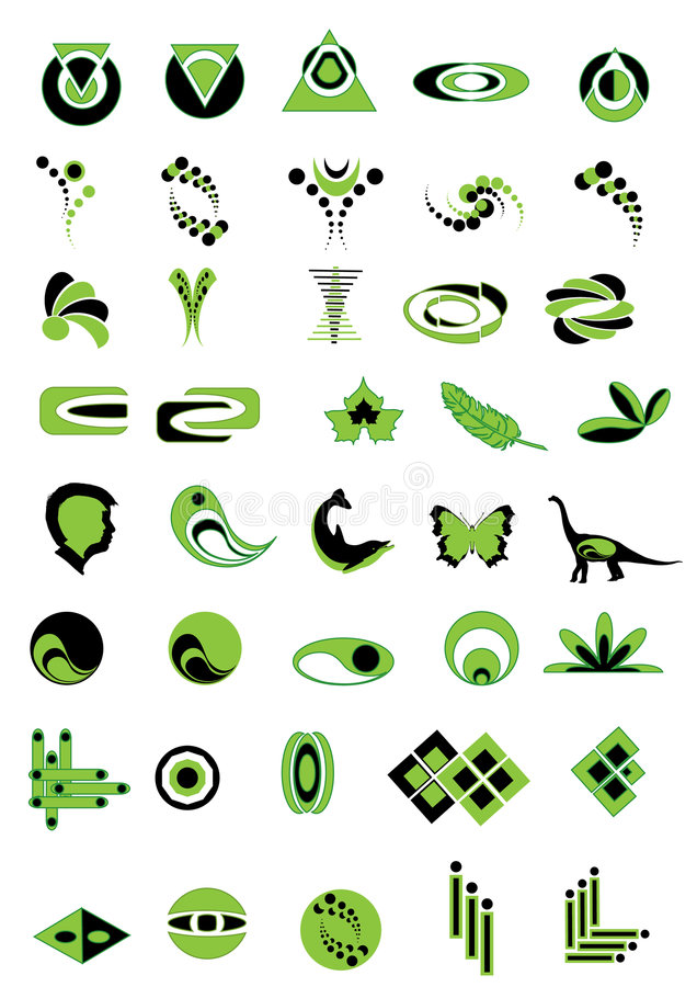 Download Green Logo Stock Images - Image: 7981494