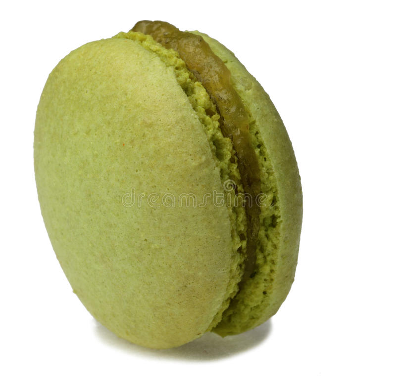 Green Macaron Stock Images