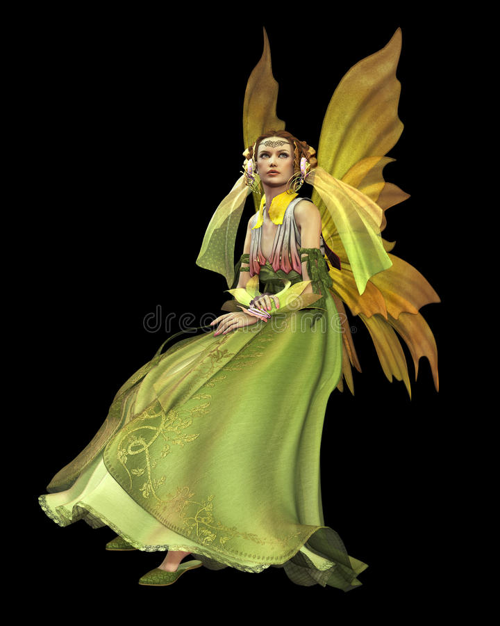 Download Green Magic CA stock illustration. Image of maid, mysterious - 26797614