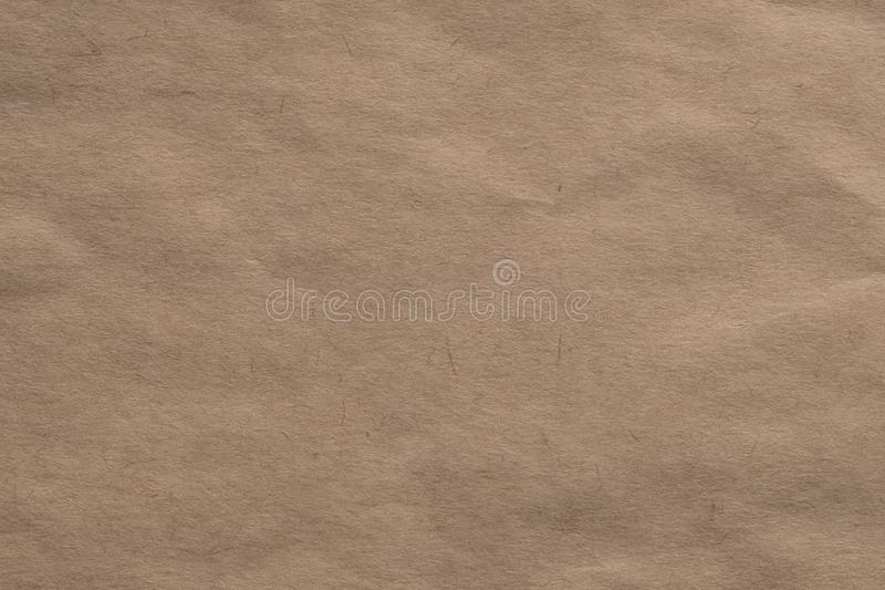 Light brown kraft paper background stock photography