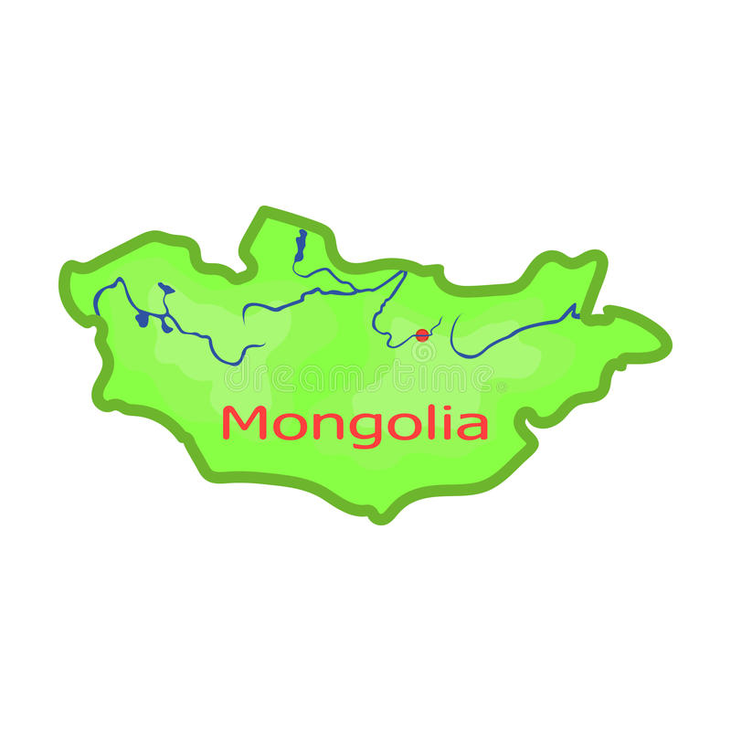 Green map of mongoliangolia on the world mapngolia single download green map of mongoliangolia on the world mapngolia single icon in gumiabroncs Image collections