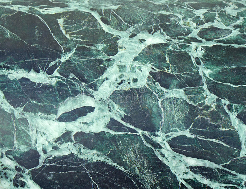Green marble stock image